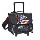 Cartable à roulettes 41 CM Avengers Team Haut de gamme