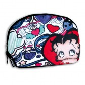 Large trousse de toilette Betty Boop Lips 29 CM