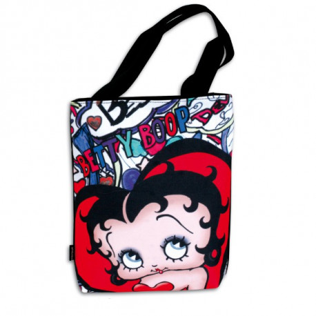 Betty Boop Lips 33 CM shopping bag