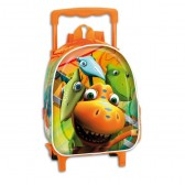 Sac à roulettes maternelle Dino Train 28 CM trolley - Cartable