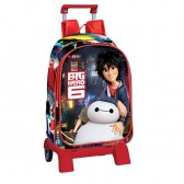 Sac à dos à roulettes Big Hero 6 Legend 42 CM trolley Haut de Gamme - Cartable
