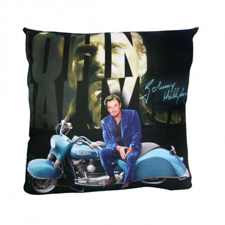 Johnny Hallyday Motorrad Kissen