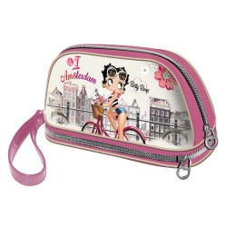 Pochette Betty Boop Amsterdam 26 CM ou Trousse de maquillage