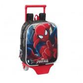 Sac à roulettes Spiderman Ultimate 27 CM maternelle Haut de Gamme - Cartable