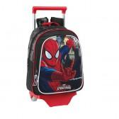 Sac à roulettes Spiderman Ultimate 33 CM maternelle Haut de gamme - Cartable
