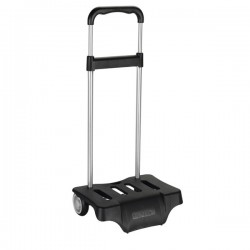 Trolley with casters backpack black