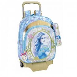 Bag wheels Princess Cinderella 42 CM The Story trolley premium + Kit - Binder