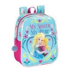Sac à dos Frozen la reine des neiges Summer 27 CM maternelle
