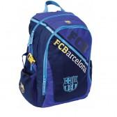Sac à dos Blue FC Barcelone 43 CM Haut de gamme - 2 cpt - FCB