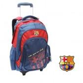 Sac à roulettes 45 CM FC Barcelone Spain Haut de gamme - 2 cpt - Cartable FCB