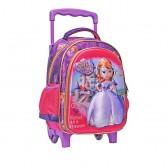 Sac à roulettes trolley maternelle Princesse Sofia 30 CM - Cartable