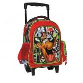 Sac à roulettes trolley maternelle Scoubidou 30 CM - Cartable