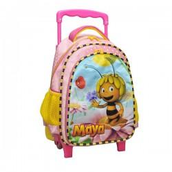 Trolley trolley maternal Maya the bee bag pink 30 CM - Binder