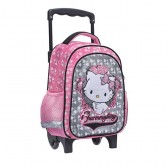 Sac à roulettes trolley maternelle Charmmy Kitty The Star 30 CM - Cartable