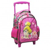 Trolley trolley maternal Tinkerbell Flowers 30 CM - satchel bag