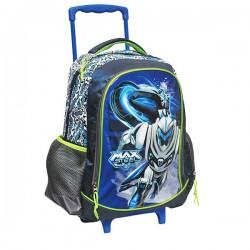 Max Steel Fight 43 CM high - school bag trolley bag