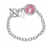 Bracelet Playboy Médaillon Bunny