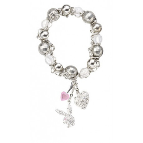 Bracelet beads and charms Playboy