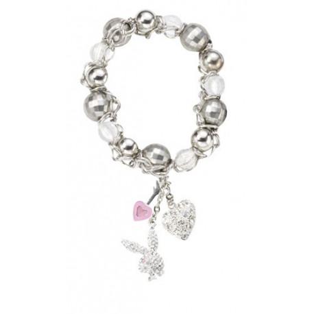 Bracelet Perles et charms Playboy