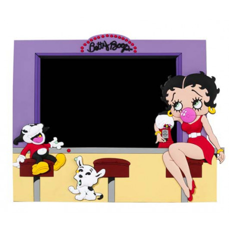 Door picture embossed 2D Betty Boop