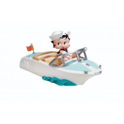 Statuetta Betty Boop barca 24 CM