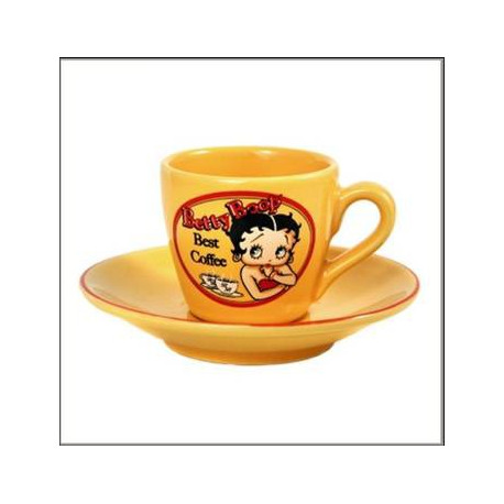 Set of 2 cups to coffee Betty Boop Best Coffee