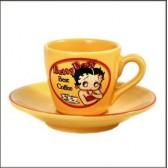 Satz von 2 Tassen Kaffee Betty Boop besten Kaffee
