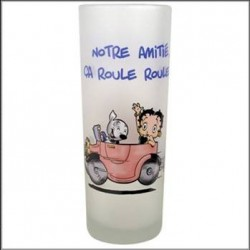 Glass sand Betty Boop Amitié