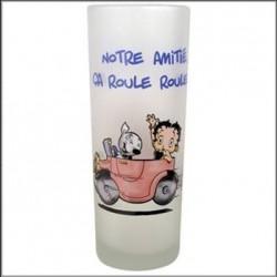 Glass sand Betty Boop Amitié