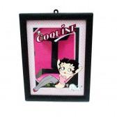 Miroir Betty Boop Coquine 21 CM