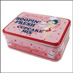 Scatola di metallo Betty Boop Cupcake
