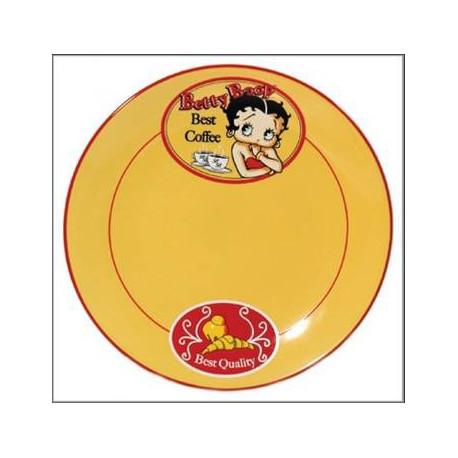 Betty Boop Coffee plate
