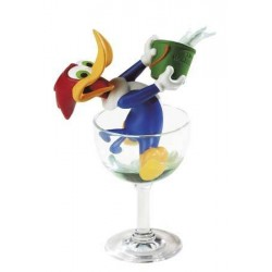 Figuur Woody glas