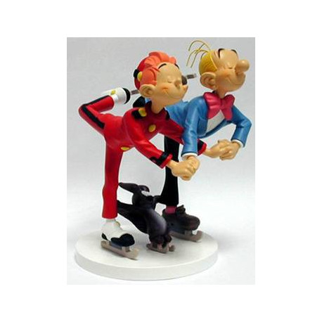 Figurine Spirou et Fantasio Patinoire