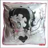 Betty Boop muziek 40 CM kussen