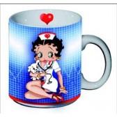 Betty Boop nurse mug