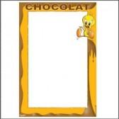 Mesa metal Titi chocolate 40 CM