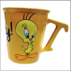 Mug conique Titi Forever jaune