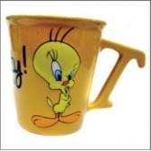 Mug conique Titi Forever jaune