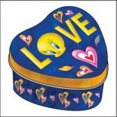 Cuore metallo Titti Love box