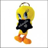 Keyring plush Tweety adorable star 13 CM