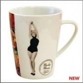 Becher konisch Marilyn Monroe Pin Up