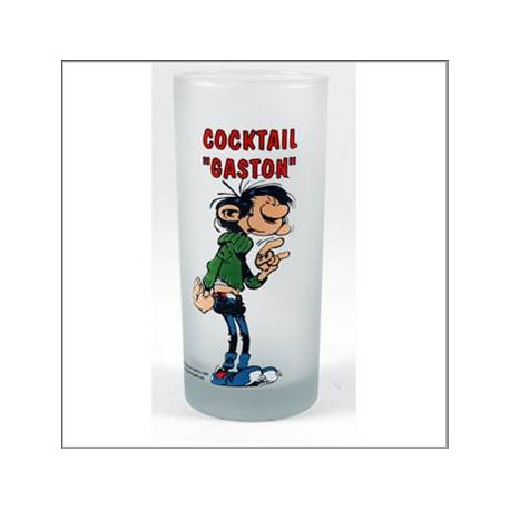 Gaston Lagaffe Cocktail glass