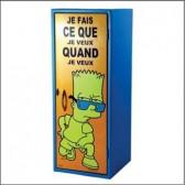 Armoire métal Bart Simpson 60 CM