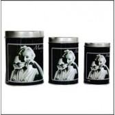 Set van 3 dozen metaal Marilyn Monroe