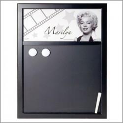 Tabel met krijt Marilyn Monroe