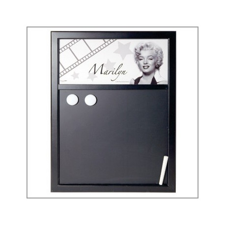 tableau craie marilyn monroe. Black Bedroom Furniture Sets. Home Design Ideas