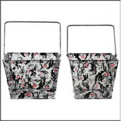 Set of 2 baskets to provision Marilyn Monroe