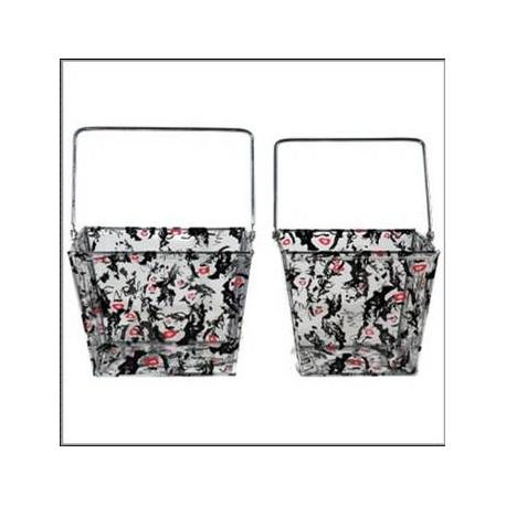 Set de 2 cestas a disposición Marilyn Monroe