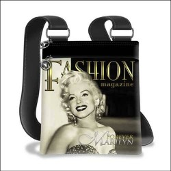 Marilyn Monroe Fashion Magazine shoulder bag